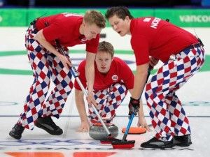 Olympic Norway Curling Pants