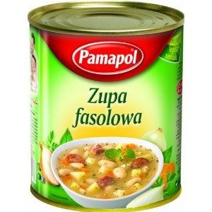 Pamapol Bean Soup - Zupa Fasolowa 780 g (Pack of 3)