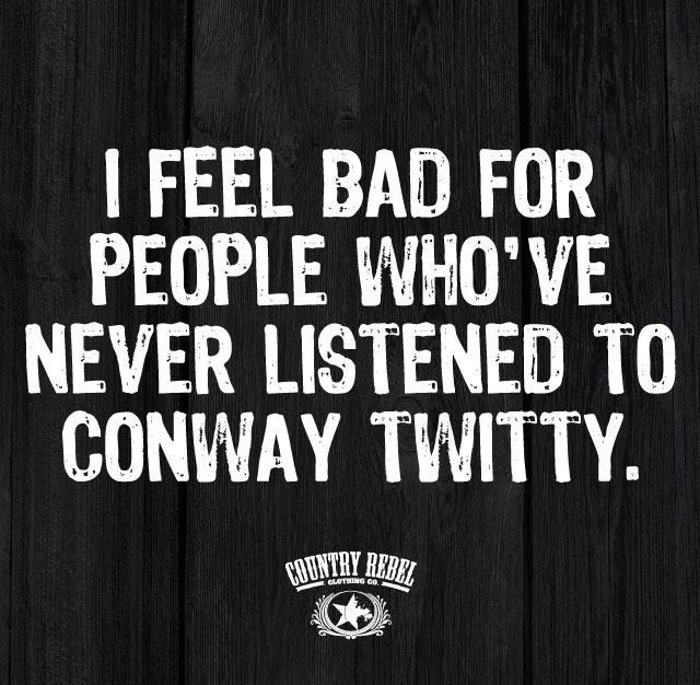 Gotta love the old school music. Conway was romantic & had a way with words.