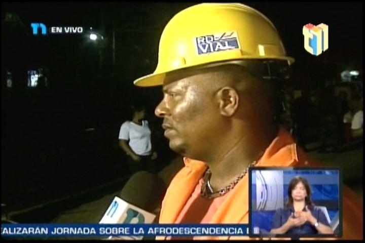 Santo Domingo Norte: Obras Publicas Comenzó los trabajos en el puente de los Guaricanos