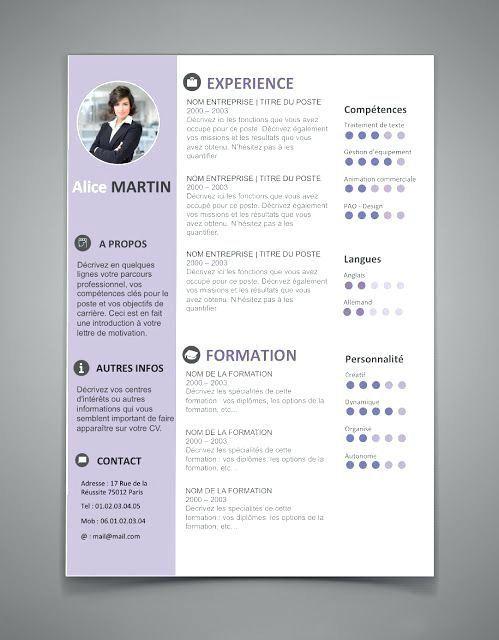 Word Template For Resume The Best Resume Templates For Word Word Document Resume Template Free Resume Resumeexam Modele Cv Exemple Cv Exemple De Cv Original