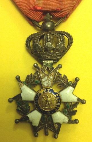 Legion D'Honneur Napoleon Original Item Waterloo Campaign |