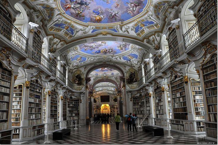 IlPost - Admont Stift Bibliothek, Austria - Biblioteca del monastero benedettino di Admont, Austria (Foto: Janos Korom)