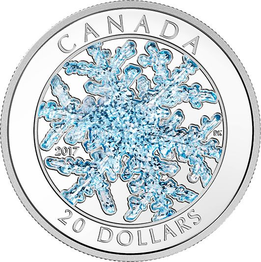 Buy Now: http://www.coincommunity.com/rcm/itm/prod2770465 RCM New Release: 2017 1 oz. Pure Silver Coloured Coin – Snowflake - Coin…