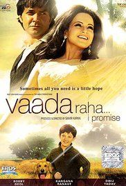 Free Online Movie Vaada Raha I Promise. After receiving a generous grant from the American Medical Association to find a cure for cancer, Dr. Dyanesh Kripal Chawla, who always gives hope to his patients, proposes to his ...