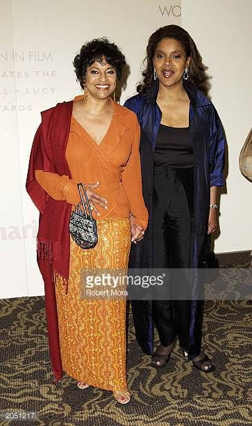 Producer/director/choreographer Debbie Allen and sister/actress Phylicia Rashad attend the Crystal Lucy Awards celebrated by Women In Film at the...