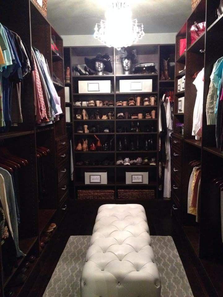 An Organized, Dream Closet Makeover By Pro Organizer, Amanda LeBlanc.