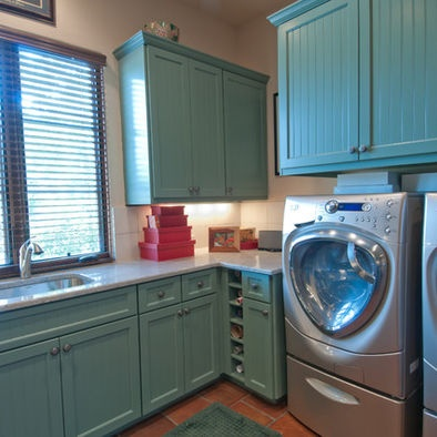 Laundry Mediterranean Laundry Room Design, Pictures, Remodel, Decor and Ideas