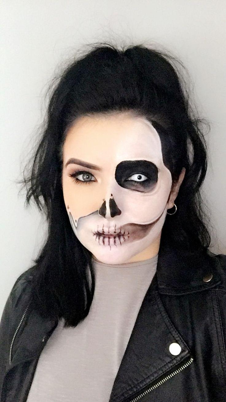 #MakeupByMeg #MeltingSkull