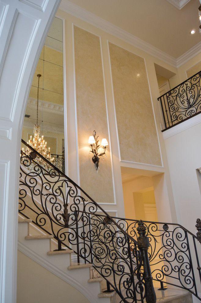 25 Best Handrail Ideas On Pinterest: The 25 Best Wrought Iron Stair Railing Ideas On Pinterest