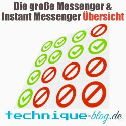 Die große Instant Messenger übersicht