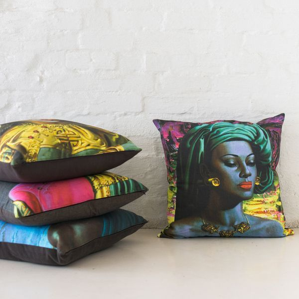 Safari Fusion | African Cushion, Pillow & Stool Gallery | Eclectic handcrafted cushions, pillows and stools