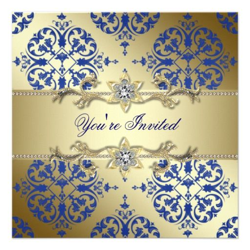 =>Sale on          Royal Blue Gold Damask Party Invitations           Royal Blue Gold Damask Party Invitations we are given they also recommend where is the best to buyDiscount Deals          Royal Blue Gold Damask Party Invitations Online Secure Check out Quick and Easy...Cleck Hot Deals >>> http://www.zazzle.com/royal_blue_gold_damask_party_invitations-161368585001406760?rf=238627982471231924&zbar=1&tc=terrest