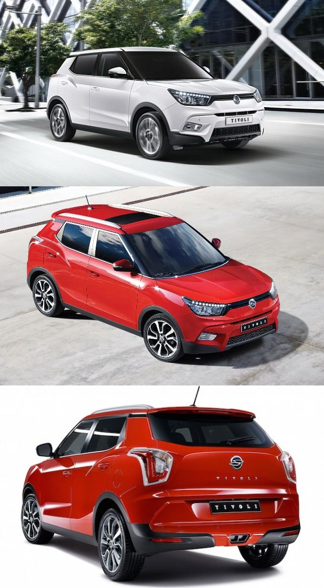 SsangYong Tivoli Has Been Imported To India For Research U0026 Development  Purpose. It Will Be Introduced In Indian Automobile Market Soon As A  Mahindra ...