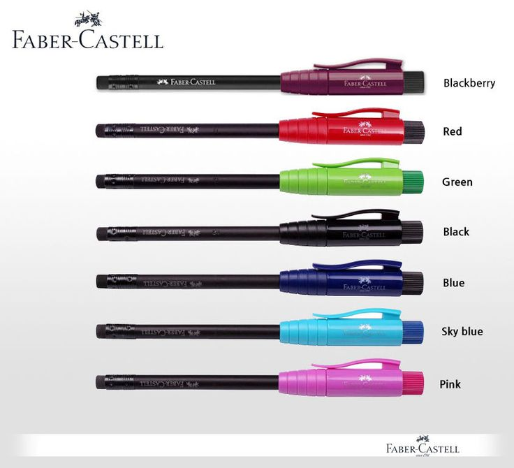 Faber-Castell Perfect Pencil 7Pcs Full Set Built in Sharpener Extender Protector #FaberCastell