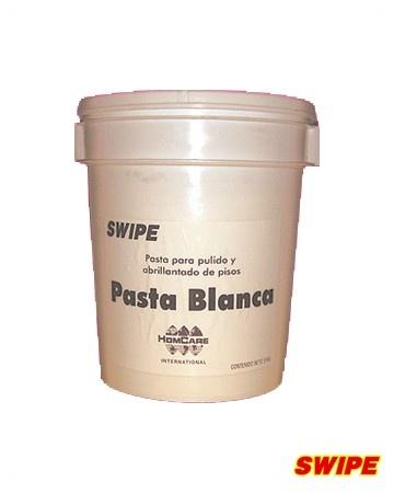 Pasta Blanca >> PASTAS: Para mármol, terrazo y granito. Pasta verde para quitar el acabado anterior en áreas de tráfico medio y pesado, pisos maltratados o con poco brillo. Pasta blanca para el abrillantado de pisos dejando un acabado espejo.