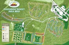 Sunset Campground Map