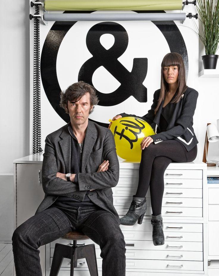 Image result for Sagmeister & walsh portrait