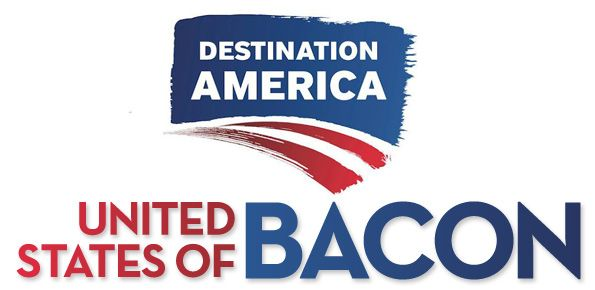 """We've partnered with Destination America's new TV show, """"United States of Bacon""""!"""