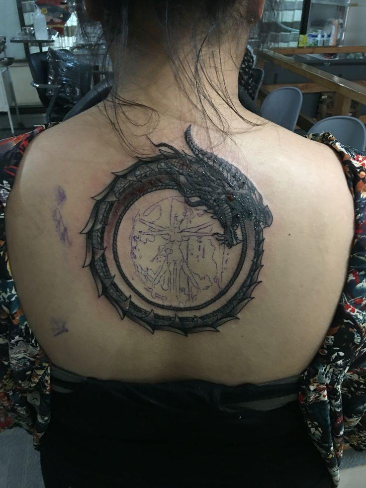 Ouroboros Dragon Done!