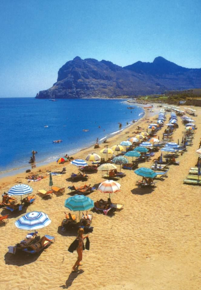 "Continuing the #roadtrip guide around #Afandou, we present you ""Kolympia Beach"", just 4km from Sivila HOTEL!!!  #Rhodes #Rodos #Greece"