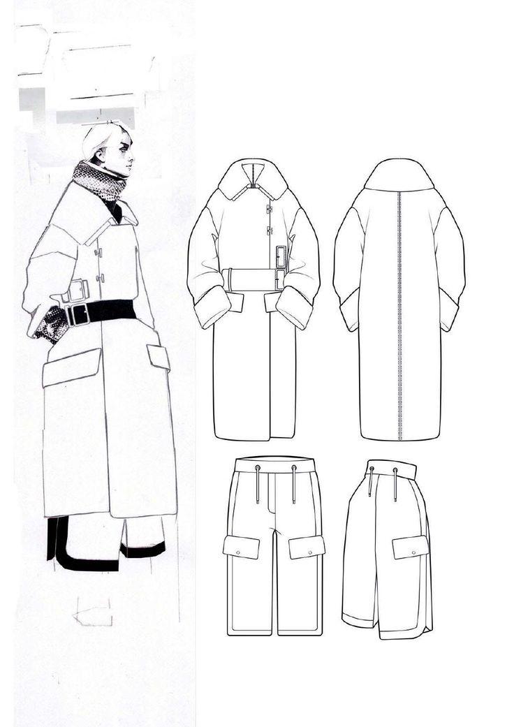 Fashion Sketchbook - fashion illustration; fashion design flats; fashion portfolio // Andrew Voss