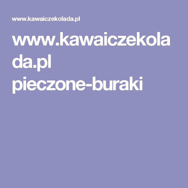 www.kawaiczekolada.pl pieczone-buraki