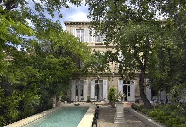 Hôtel Particulier à Arles, séjour chic dans un des plus beaux hôtels de Provence