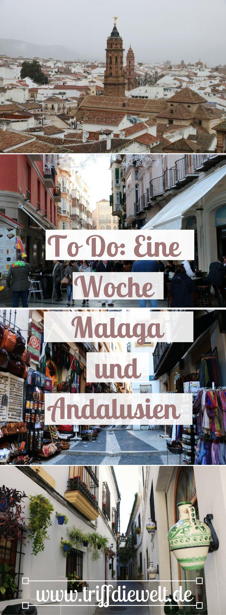 Malaga Tipps und Malaga To Do Liste. Eine Woche in Malaga ist zwar eigentlich viel zu kurz, aber als Ausgangsbasis eignet sich die Stadt hervorragend, um Andalusien zu entdecken und Ausflüge in die Region zu machen. #Andalusien #Malaga