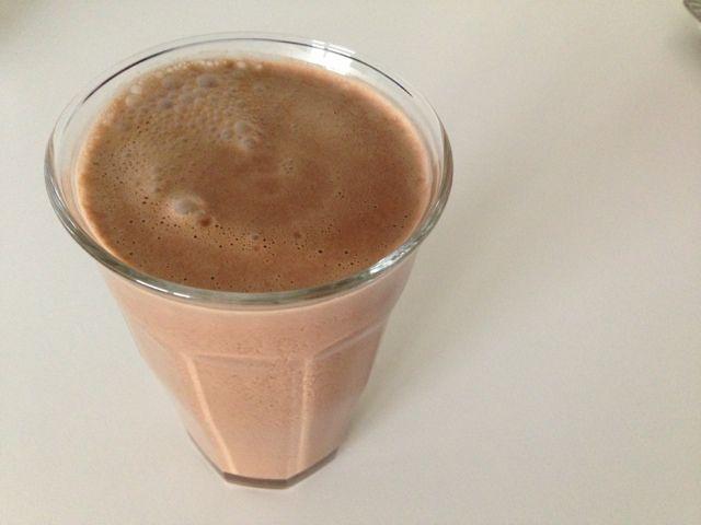 lchf æggemælk med kakao