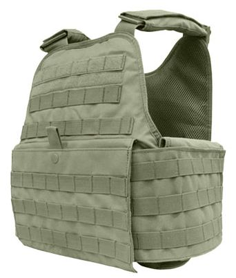 OuterArmor #Tactical #Molle Plate Carrier Vest OD Green #bodyarmor #swat #police #2a #guns #lawenforcement #military