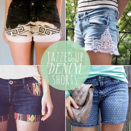 Summer Trend Loving: DIY Denim Shorts
