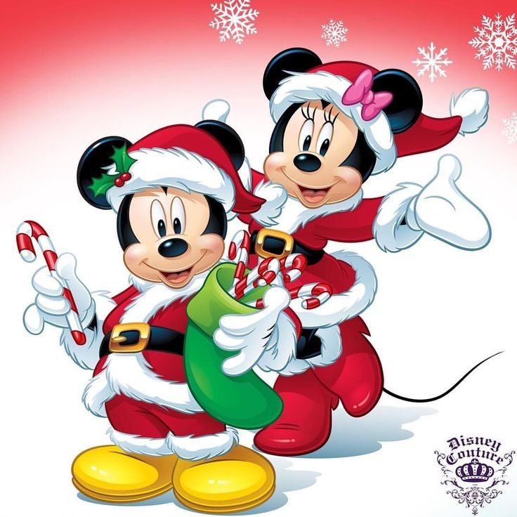 Mickey Mouse Weihnachten