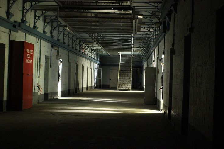 Inside Pentridge gaol. Melbourne. Closed in 1997.