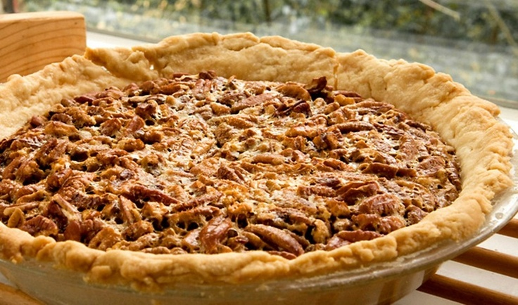 Southern Pecan Pie - this is the one I use and it's as easy as ... um ...