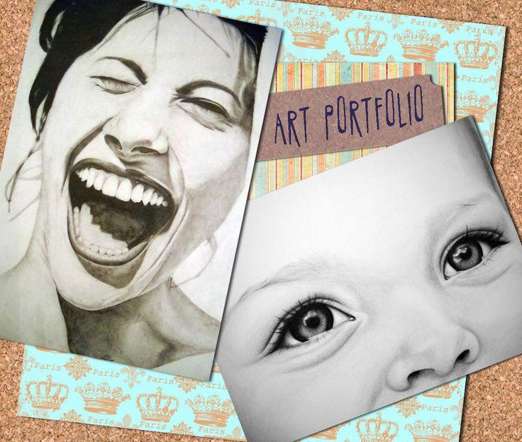 Art Porfolio cover - Zelda Venter