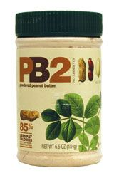 PB2  Powdered Peanut Butter - Great for making smoothies! Only includes peanuts, so it doesn't have any fake peanut flavors.