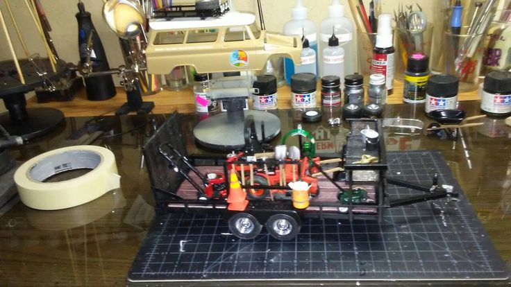 Scratch built landscape trailer by trj