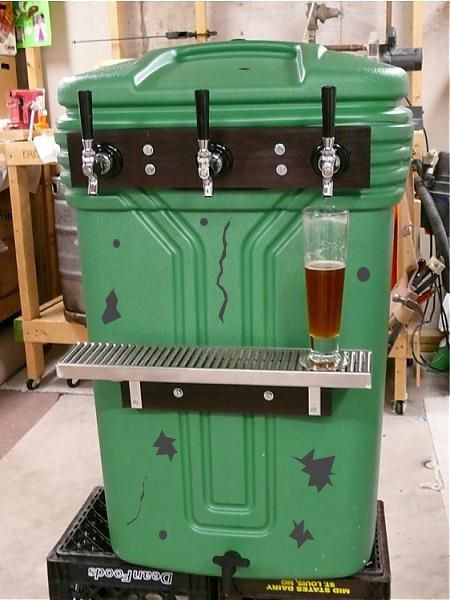 BierMunchers Rolling Kegerator (BYO Published) - Page 6 - Home Brew Forums