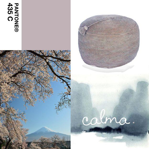 Aroma a flores de cerezo en tu hogar #PuffNepal #calma. #SAKURA #cerezojapones #deco #pantone435C  #interiordesign  https://www.facebook.com/calma.bsas