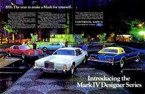 1976 Lincoln Continental Mark IV Designer SeriesLincoln Continents, Lincoln Continental, 1976 Lincoln