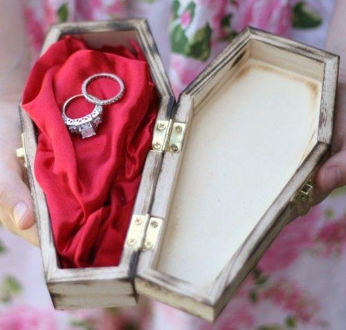 till death do us part | gothetsyfinds:br br Till death do us part wedding ring bearer... photo ...