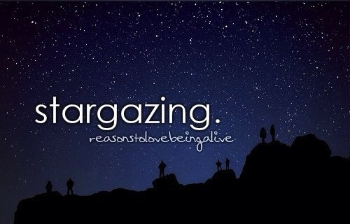 Stargazing, Little Reasons to Smile