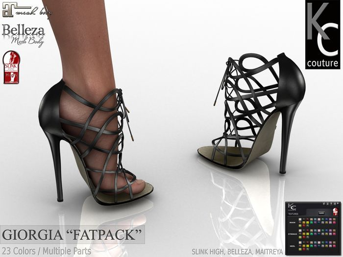 .:KC:. GIORGIA for Slink High Feet, Maitreya & Belleza / FAPACK
