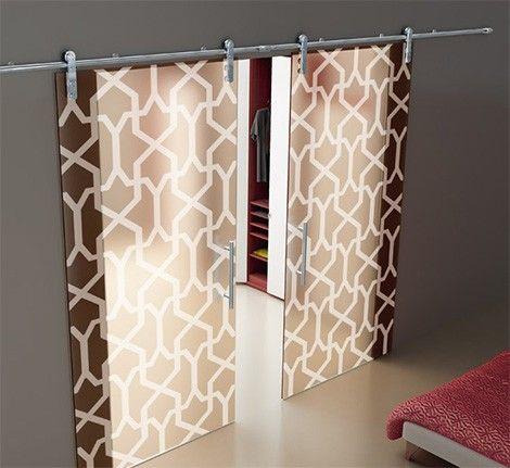 Sliding Door Designs With Frosted Glass Designer Look