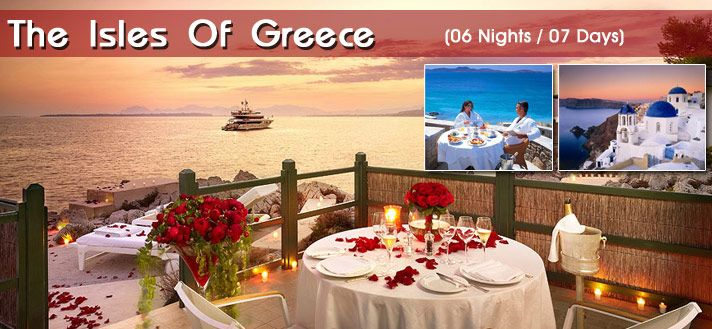 #EuropeHoneymoonPackages  #HoneymooninGreece  #GreeceTours Book 06 Night / 07 Days #HoneymoonPackages for Greece 2015 from Delhi India with all inclusive resorts, hotels and cover all romantic destinations, sightseeing and most romantic places in Greece.