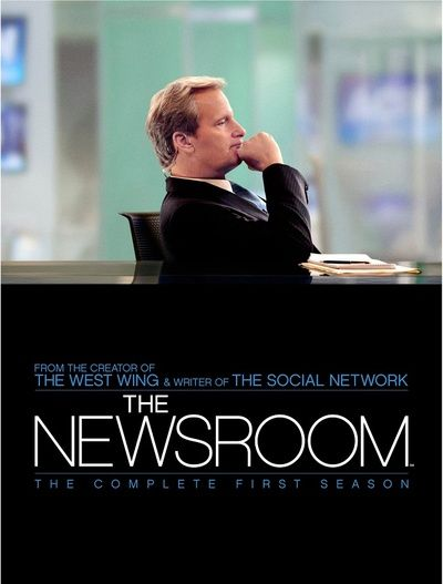 The Newsroom. Just started watching, brilliant, brilliant pilot!