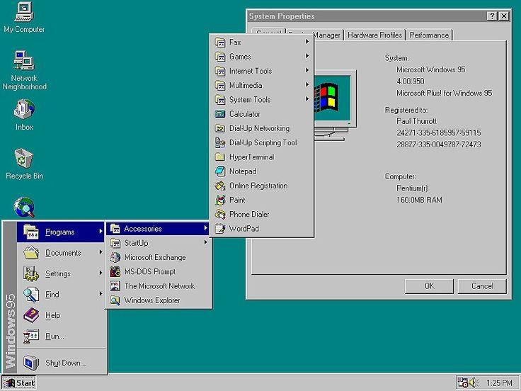 Tech in 1995 | POPSUGAR Tech Windows 95
