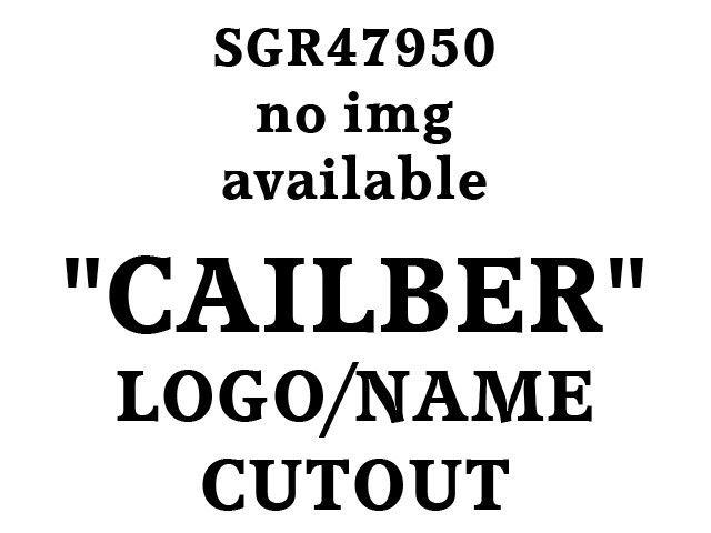 """CALIBER 2007-2012 DODGE (4 pieces: stainless steel - """"LOGO & NAME"""") SGR47950"""