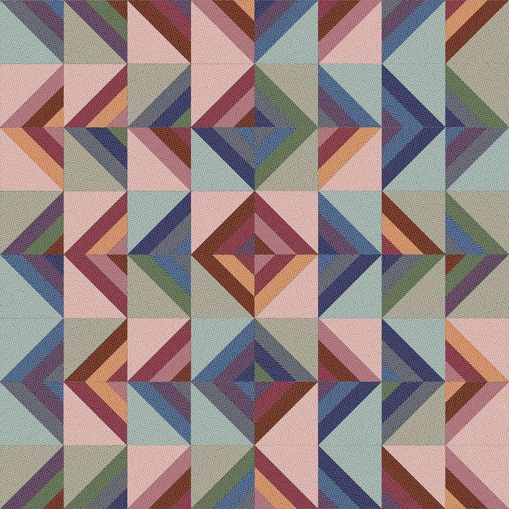 Hadleigh Roman Stripe Quilt idea 6